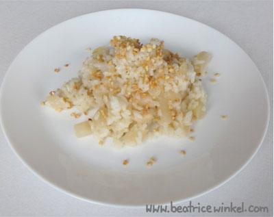 vegan Schwarzwurzel-Risotto