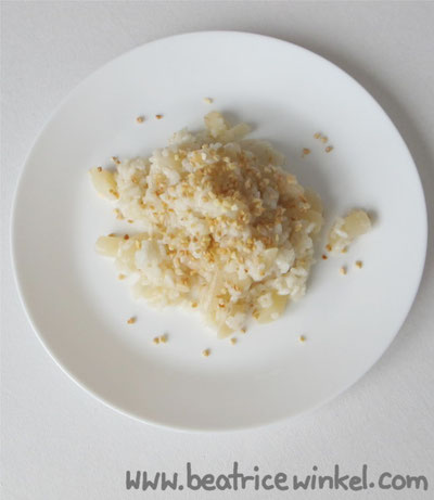 veganes Schwarzwurzel-Risotto