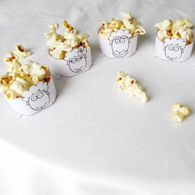 Beatrice Winkel - Füll Popcorn in die Schafe