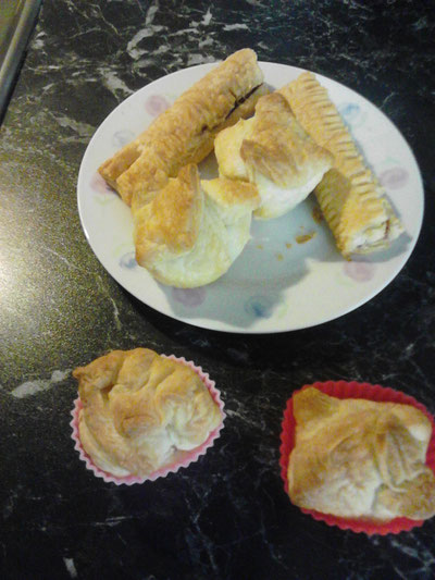 Camping - Küche u. Rezepte » Carado Blätterteig Snack