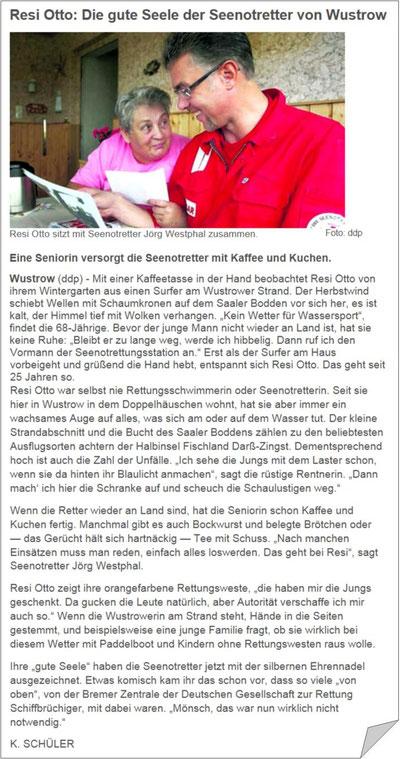 Quelle: Ostsee-Zeitung (2009)