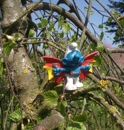Schtroumpf dans les arbres 2