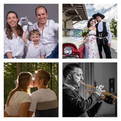 Auftragsfotografie (Familien, Paare, Events, Hochzeit, Kreativ usw.)