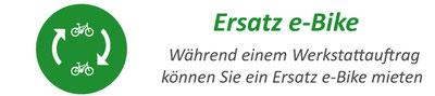 Ersatz e-Bike mieten in der e-motion e-Bike Welt Dietikon bei Zürich