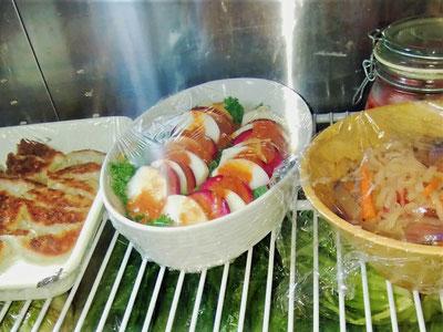 めずらしい野菜は、誰もがなじみのある定番料理にして、野菜の味を楽しんでもらうようにしているそうです