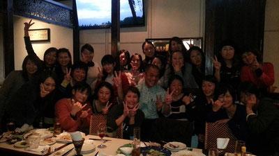 昨夜はサーフィンしている女子の飲み会にお声を掛けて頂き参加してきました~(^_^)/   楽しい夜でしたよ~!