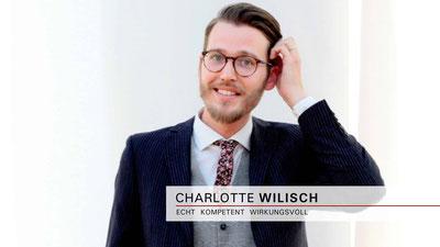 Charlotte Wilisch - Nonverbales Selbstmarketing in Bewerbungen und Prüfungen - Mit Nuancen Weichen für die Zukunft stellen - Vorträge | Seminare | Beratungen