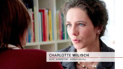 Charlotte Wilisch - Nonverbales Selbstmarketing - Beratung und Business-Coaching - maßgeschneidert, diskret und nachhaltig