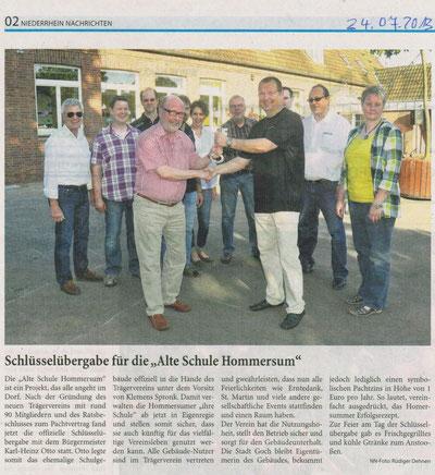 Niederrhein Nachrichten 24.07.2013
