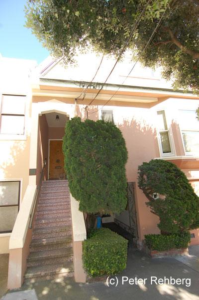 San Francisco: Uranus Terrace, unsere Wohnung im 1. OG