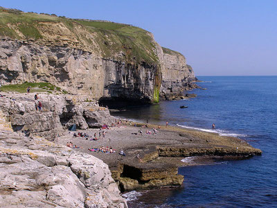 """Dancing Ledge"" Coasteering & Climbing location, Dorset"