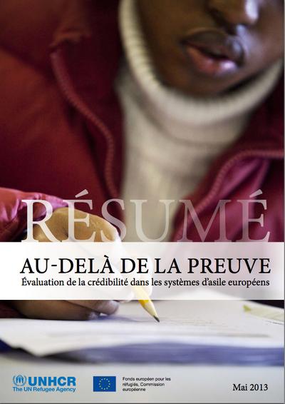 Rapport sur l'évaluation de la crédibilité dans les systèmes d'asile européens — Co-traduction Julia H. Prevost (The Write Thing)
