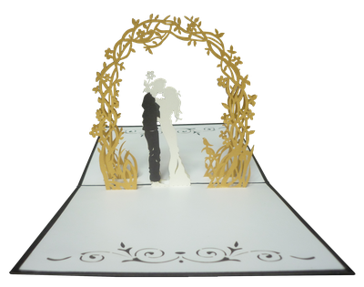 Carte Pop-Up Mariage