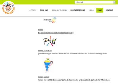 """10.11.2020: Unser Verein ist jetzt auch neu auf der Homepage der Kinderdrehscheibe unter """"Frühförderstellen und integrative Unterstützungangebote"""" zu finden"""
