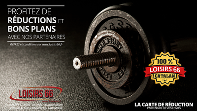 Réductions fitness musculation Perpignan loisirs 66 Loisirs66 carte de réduction Perpignan - Loisirs 66 - loisirs66.fr