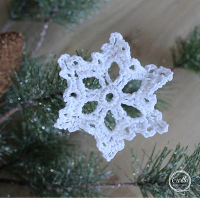 Stellar Star Snowflake - FREE PATTERN