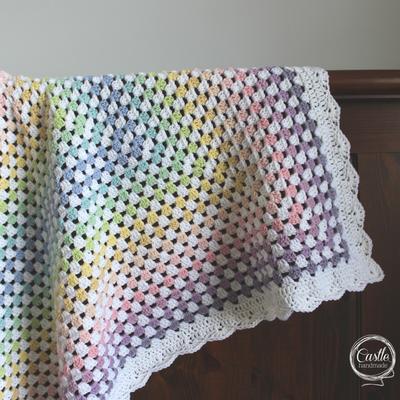 Misty Rainbow Blanket