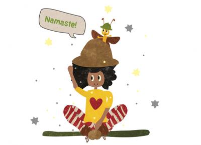Seht ihr dieses kleine süße Teil hinter YoYos Hut? Das ist Motte, ihr bester Freund. Motte ist ein kleiner Falter, auf dessen Flügeln Zauberstaub glitzert.