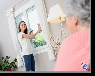 hilfsbereit.org Bild Abschnitte 1 - Hilfe im Haushalt - Haushaltshilfe Senioren-Pflege