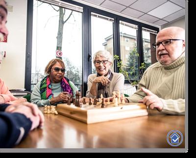 hilfsbereit.org - Seite Leistungen - Abschnitt Betreuung und Pflege- betreuen von senioren