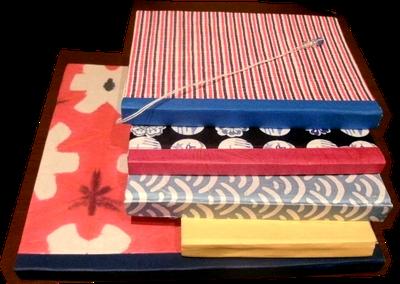 始めの事に作った製本ノートです。