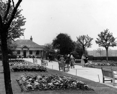 Small Heath Park 1950s  - image from the Birmingham Mail