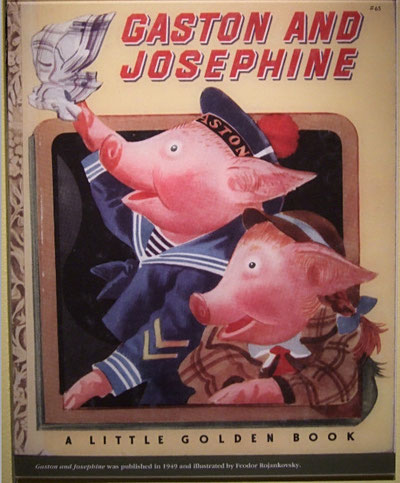 Gaston and Josephine:  Little Golden Books