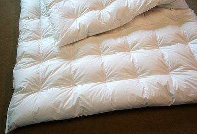 Feinste Bettwäsche, Bettdecken, Kissen, Duvet, Klassische Reinigung von Bettwäsche, Ob Daunen, Leinen, Baumwolle, Kamelhaar oder Synthetik… alles ist möglich