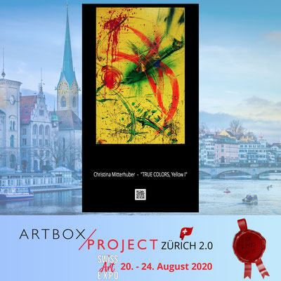 Swiss Art Expo 20 - 24. 8. 2020