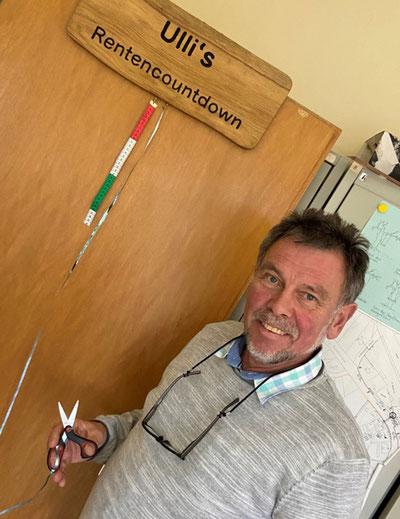 Am 29. Januar ist sein letzter Arbeitstag im Bauamt. Dem Abwasserverband bleibt Ulli Wiese als Geschäftsführer erhalten.