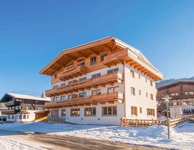 Wintersport accommodaties in het centrum van Ellmau