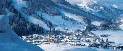 Wintersport accommodaties in Oostenrijk Saalbach