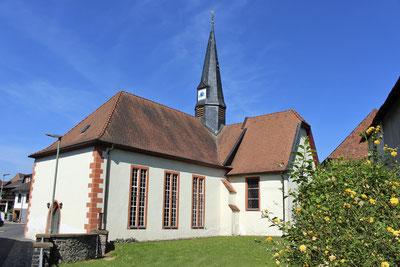 Evangelische Kirche in Fauerbach. Foto: Erich Engel