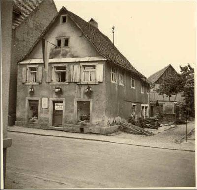 das Haus in den 50er Jahren