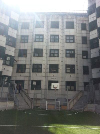 Knast, Gefängnis, Wien-Josefstadt, Josefstadt, Sport, Justizanstalt