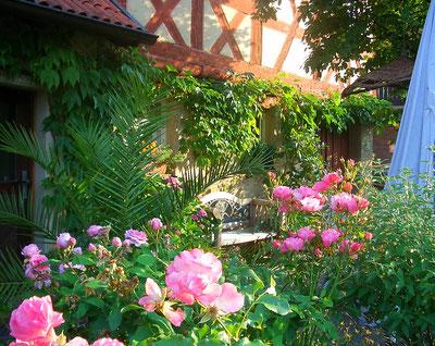 Ferienwohnung Lichtenfels Garten