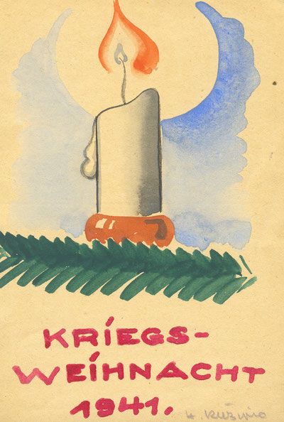 Feldpostkarte - Sammlung Henning Stoffers