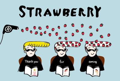strawberryさま 来店感謝DM