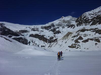 Skitour, Skihochtour, Piz Varuna, Engadin, Bernina, Schweiz, Südseite Piz Palü
