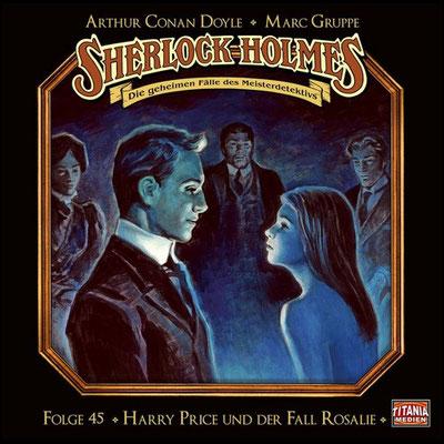 CD-Cover Sherlock Holmes Harry Price und der Fall Rosalie
