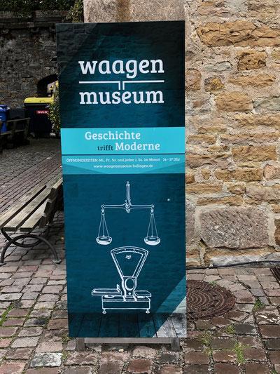 Bild: Jasmin Hopfer. Mit Genehmigung des Waagenmuseums Balingen.