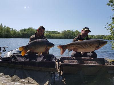 étang pêche carpe no-kill Acrocarpe 80120 Rue