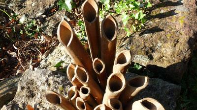 Vases à fûts multiples - Sylvie Ruiz Foucher -