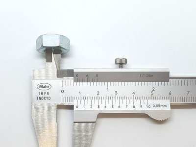 Messschieber Innenmessung, Schieblehre Innenmessung, Kernloch messen, Innendurchmesser messen, Loch messen, Bohrloch messen