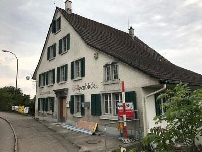 Ab September 2019 wieder offen: der Alpenblick in Gossau ZH. Bild: Tudor Dialog