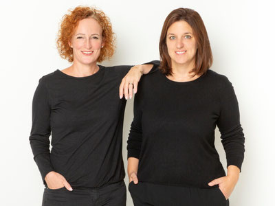 Frauenpower bei TUDOR DIALOG: Barbara Tudor (links) und Isabella Schütz aus Gossau ZH. Bild: easypictures.ch