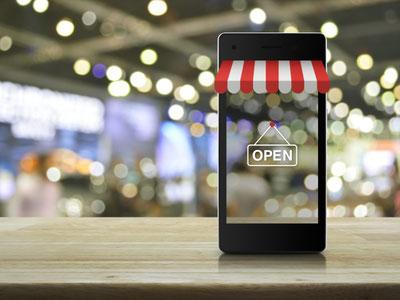 Websites sind digitale Schaufenster. Bild: AdobeStock Photo