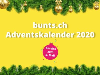 Bald ist es wieder soweit: Online-Adventskalender auf bunts.ch.