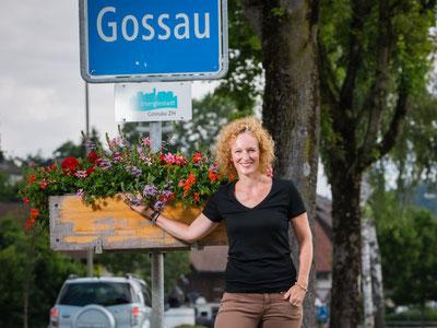Herausgeberin und Betreiberin von bunts.ch: Barbara Tudor. Foto: Michael Rieder Photography, Grüt