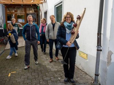 Strahlende Besucher bei der Ausstellung in Bertschikon. Bild: FotoZitt.ch